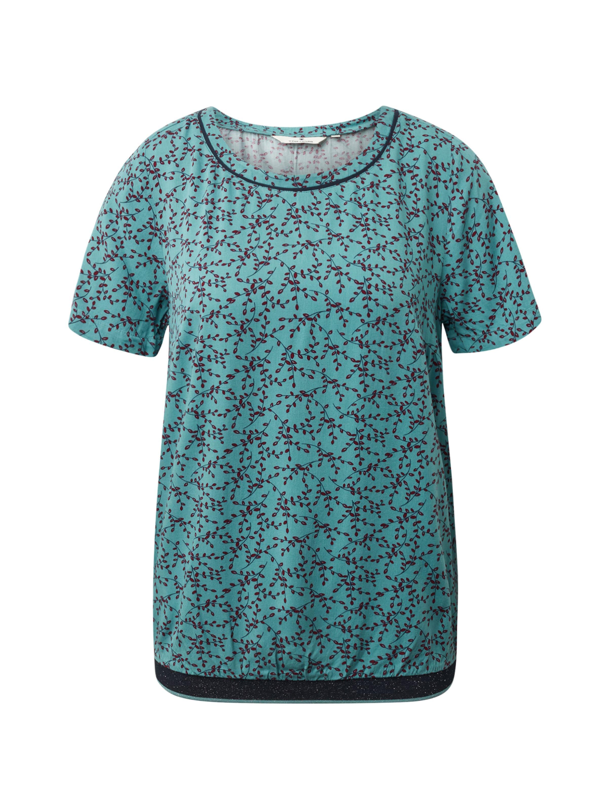 Tailor Tailor In MintSchwarz MintSchwarz Bluse Bluse In Tom Tom Tailor Tom PilukXZwOT