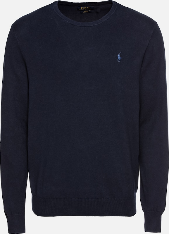POLO RALPH LAUREN Pullover 'LS SF CN PP-LONG SLEEVE-SWEATER' in navy: Frontalansicht