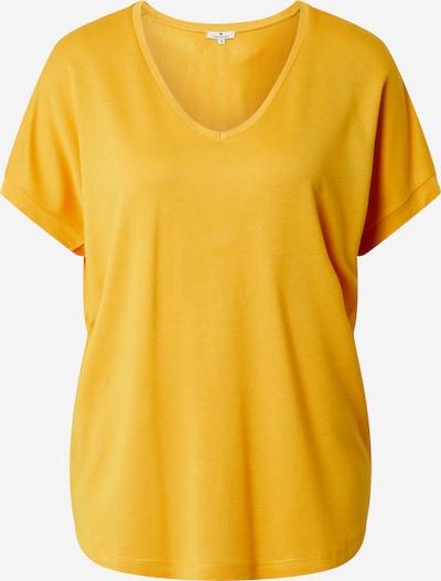 TOM TAILOR Shirt in gelb, Produktansicht