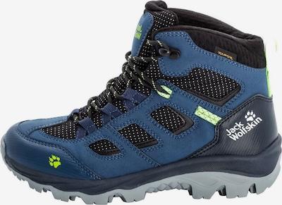 JACK WOLFSKIN Boots in de kleur Blauw / Zwart, Productweergave