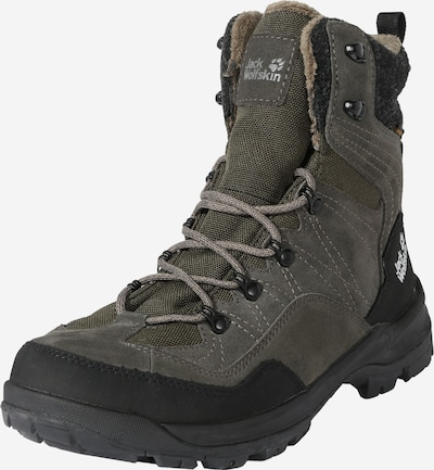 JACK WOLFSKIN Outdoor Boots 'ASPEN' in khaki / schwarz, Produktansicht