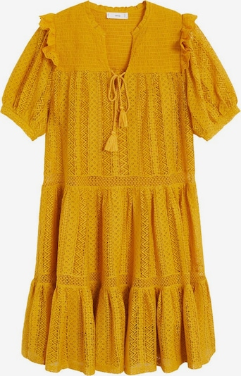 MANGO Kleid 'Pasion' in senf, Produktansicht