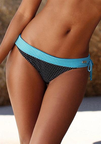 """BUFFALO Bikini-Hose """"Florida"""" in hellblau / schwarz / weiß, Modelansicht"""