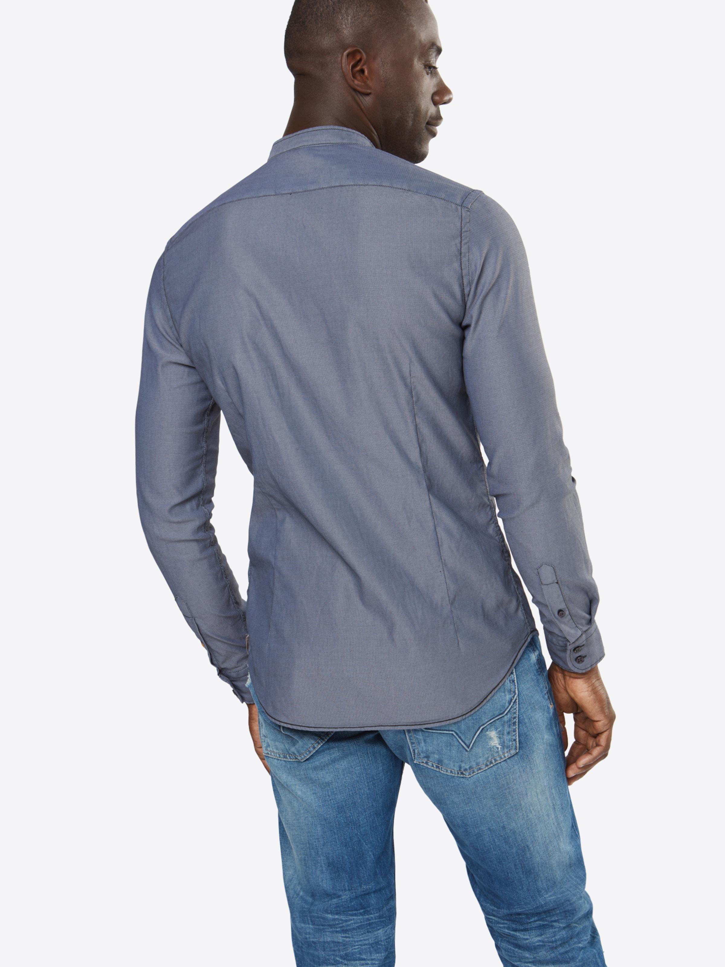 Q1 Slim fit Hemd mit Stehkragen Extrem Günstig Online Fabrikverkauf Verkauf Günstiger Preis LQgyxUCmet