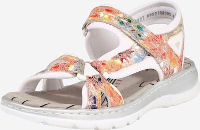 RIEKER Sandále - béžová / zmiešané farby, Produkt