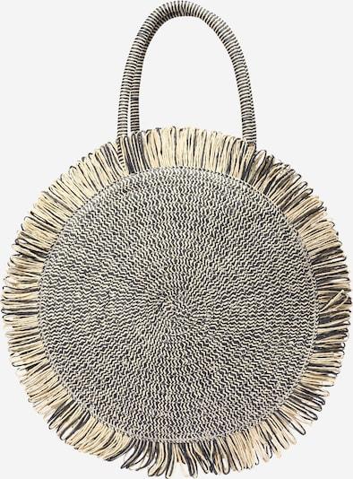 Paplūdimio krepšys 'Malibu' iš Zwillingsherz , spalva - smėlio / tamsiai mėlyna jūros spalva, Prekių apžvalga