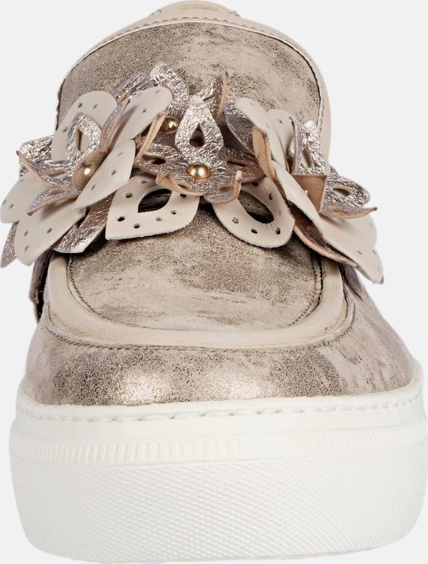 Haltbare Mode billige Schuhe GABOR | Slipper mit Blütenapplikation Blütenapplikation Blütenapplikation Schuhe Gut getragene Schuhe ceae3a