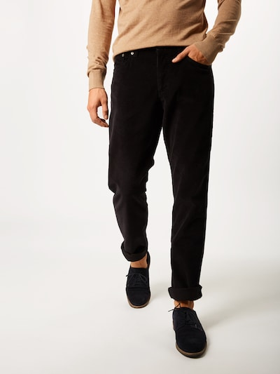 Kelnės 'Cooper Fancy' iš BRAX , spalva - juoda: Vaizdas iš priekio