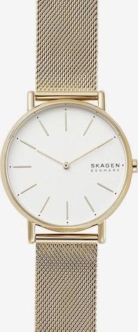 SKAGEN Uhr 'Signatur' in Gold