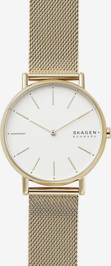 SKAGEN Uhr 'Signatur' in gold / weiß, Produktansicht