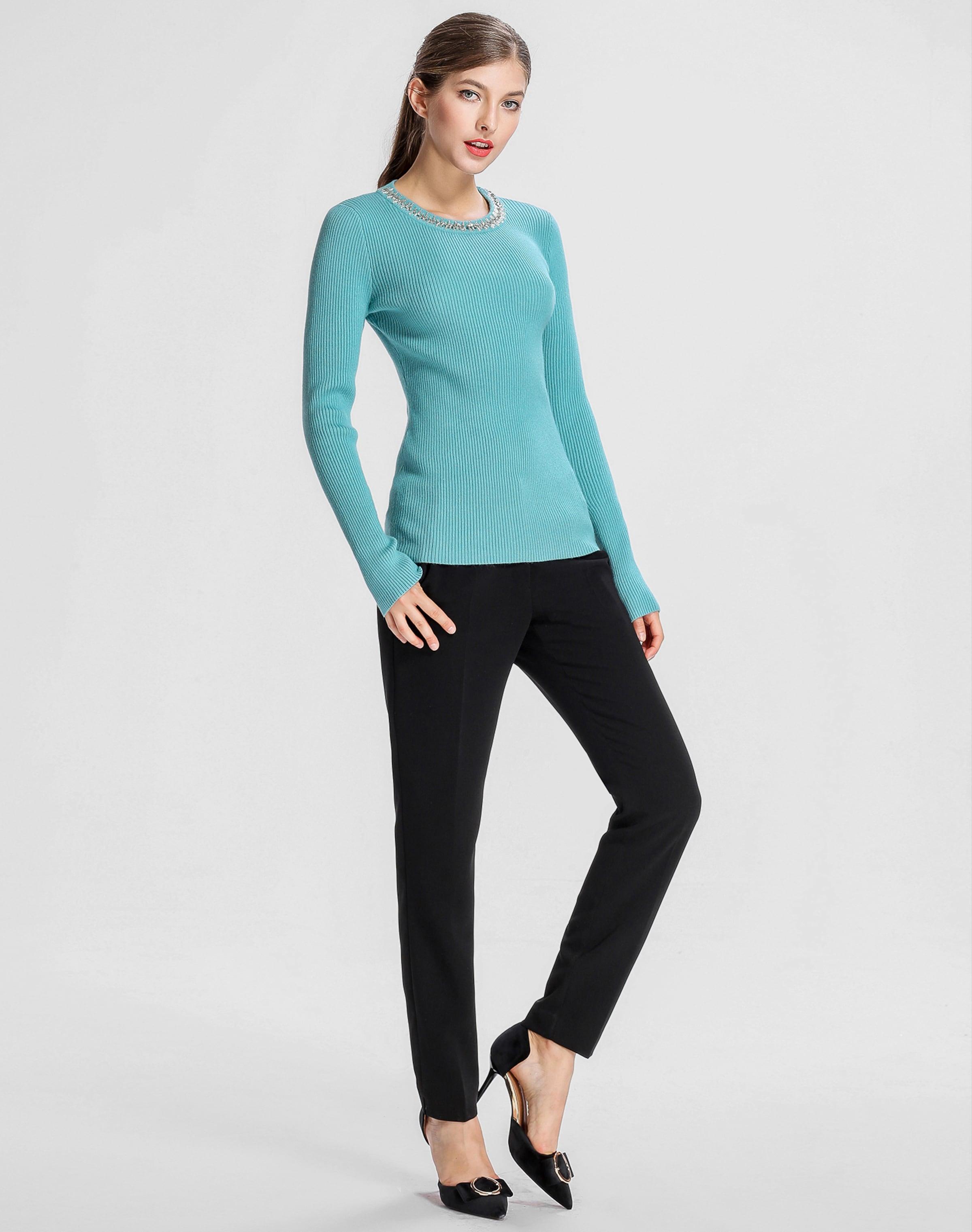 Niedrig Versandkosten Für Verkauf APART Pullover mit Perlen und Glasperlen am Ausschnitt Billig Verkauf Niedriger Versand qruj8m