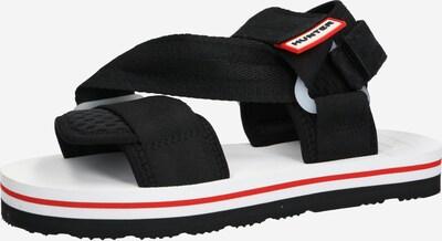 HUNTER Páskové sandály 'WOMENS ORIGINAL BEACH SANDAL' - černá, Produkt