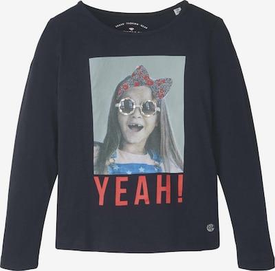 TOM TAILOR T-Shirt Langarmshirt mit Foto-Print in dunkelblau, Produktansicht