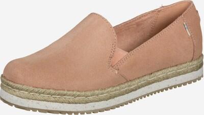 TOMS Schuhe ' Palma W ' in beige, Produktansicht