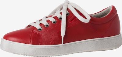 TAMARIS Sportieve veterschoen in de kleur Rood, Productweergave