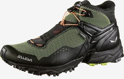 SALEWA Wanderschuhe 'MS Ultra Flex Mid GTX' in hellgrün / schwarz, Produktansicht