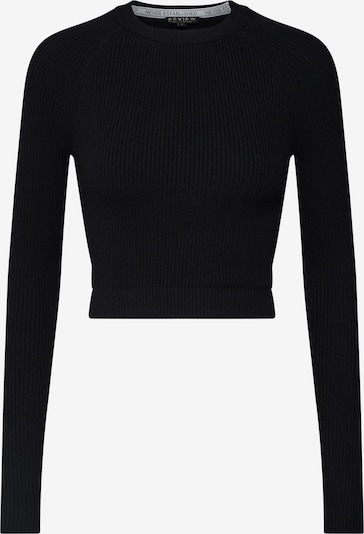 Review Sweater in schwarz, Produktansicht