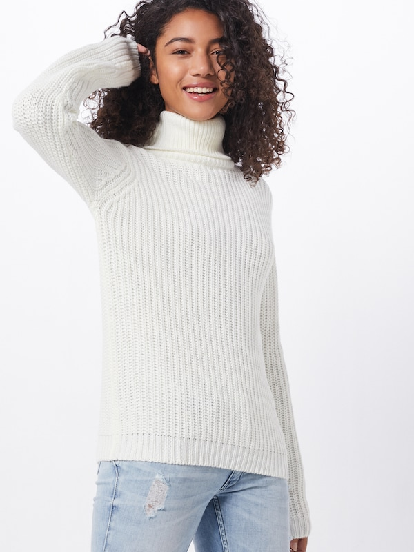 Rut & Circle Pullover  'TINELLE' in offwhite, Modelansicht