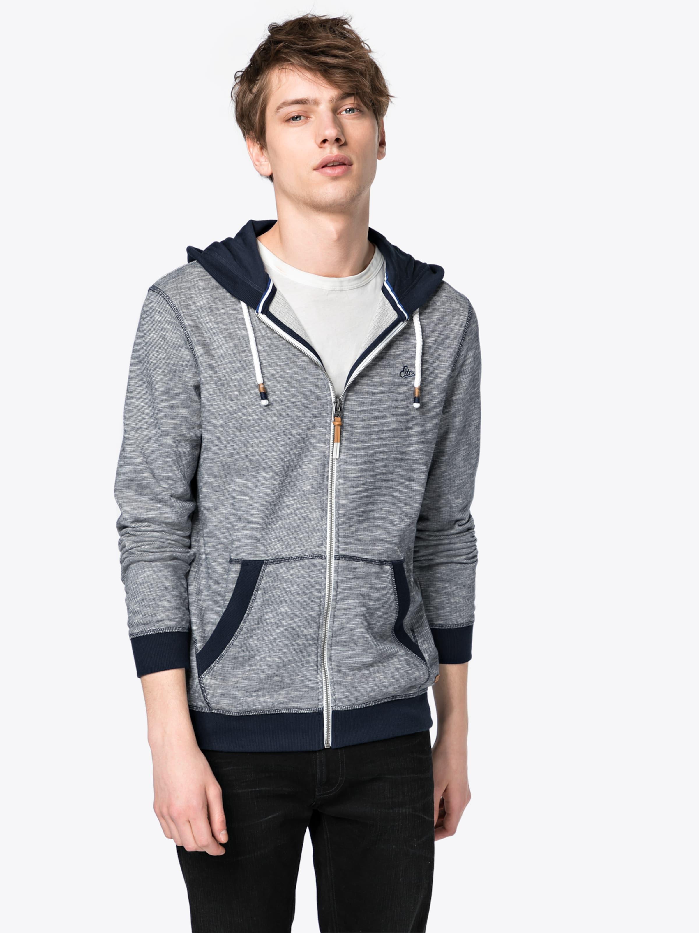 'feeder EDC BY Sweatshirts zpthrouh sleeve' long cardigan Sweatjacke ESPRIT F1tqw1gC