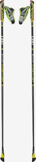 LEKI Walking-Stock 'Smart Pacemaker' in gelb / orange / schwarz / weiß, Produktansicht