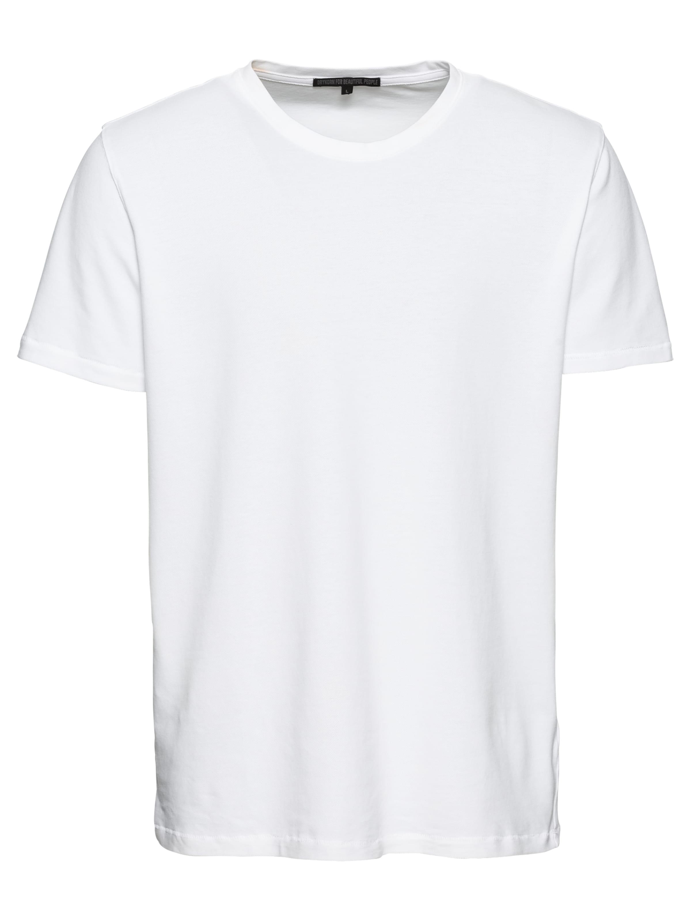 T shirt Drykorn Weiß 'samuel' En KJ5lFcuT13