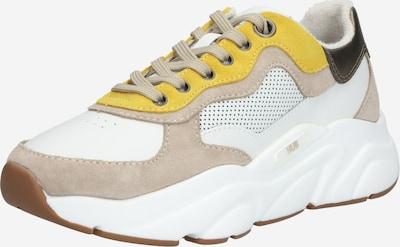 Sneaker low HUB pe galben / gri-maro / alb, Vizualizare produs
