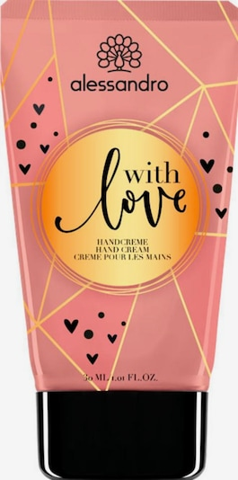 alessandro INTERNATIONAL Handcreme 'With Love' in rosa, Produktansicht