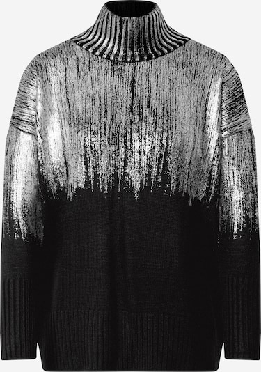 Pulover 'Jumper' Trendyol pe negru / argintiu, Vizualizare produs