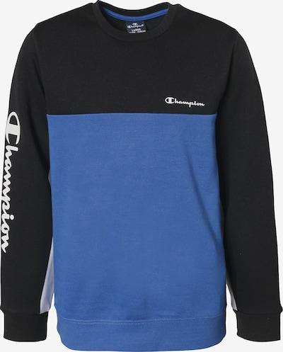 Champion Authentic Athletic Apparel Sweatshirt in royalblau / schwarz, Produktansicht