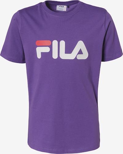 FILA T-Shirt in dunkellila / weiß, Produktansicht