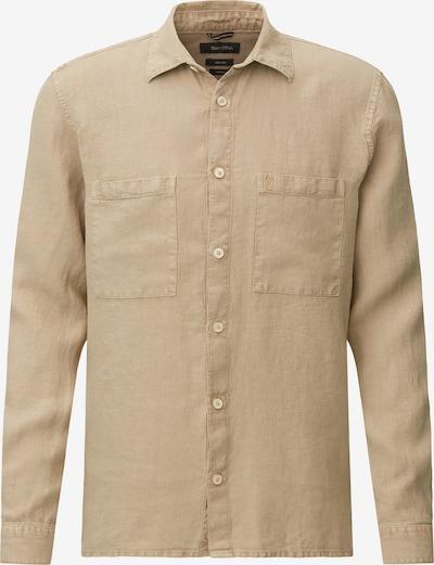 Marc O'Polo Hemd in hellbeige, Produktansicht