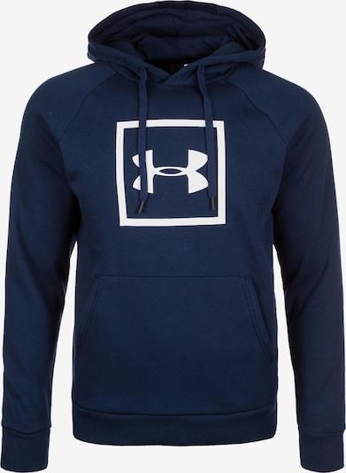 UNDER ARMOUR Pullover 'Rival' in dunkelblau / weiß, Produktansicht