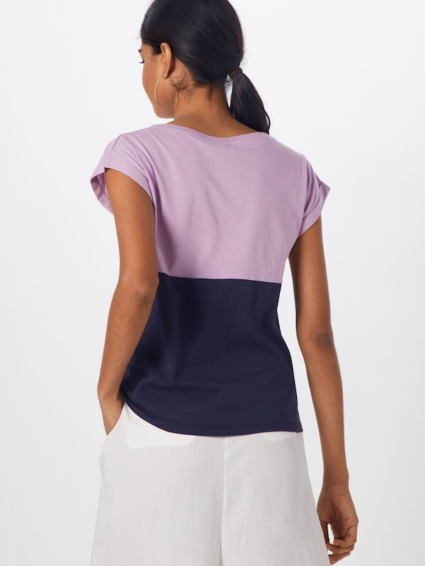 MarineViolet Bleu 'block Girl' shirt En Oversize Clair T Iriedaily 8OXZkwN0Pn