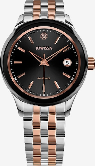 JOWISSA Quarzuhr 'Tiro' in rosé / schwarz / silber, Produktansicht