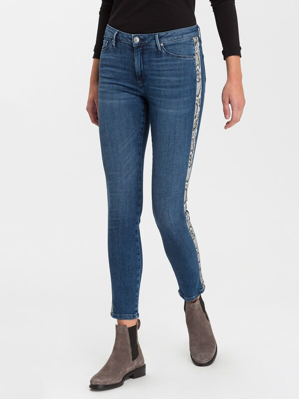 Cross Jeans Jeans 'Alan' in blue denim: Frontalansicht