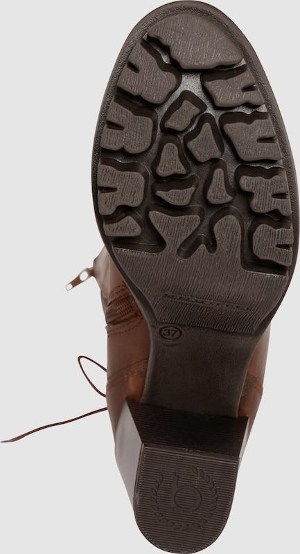 bugatti Stiefel mit Schnürdetail