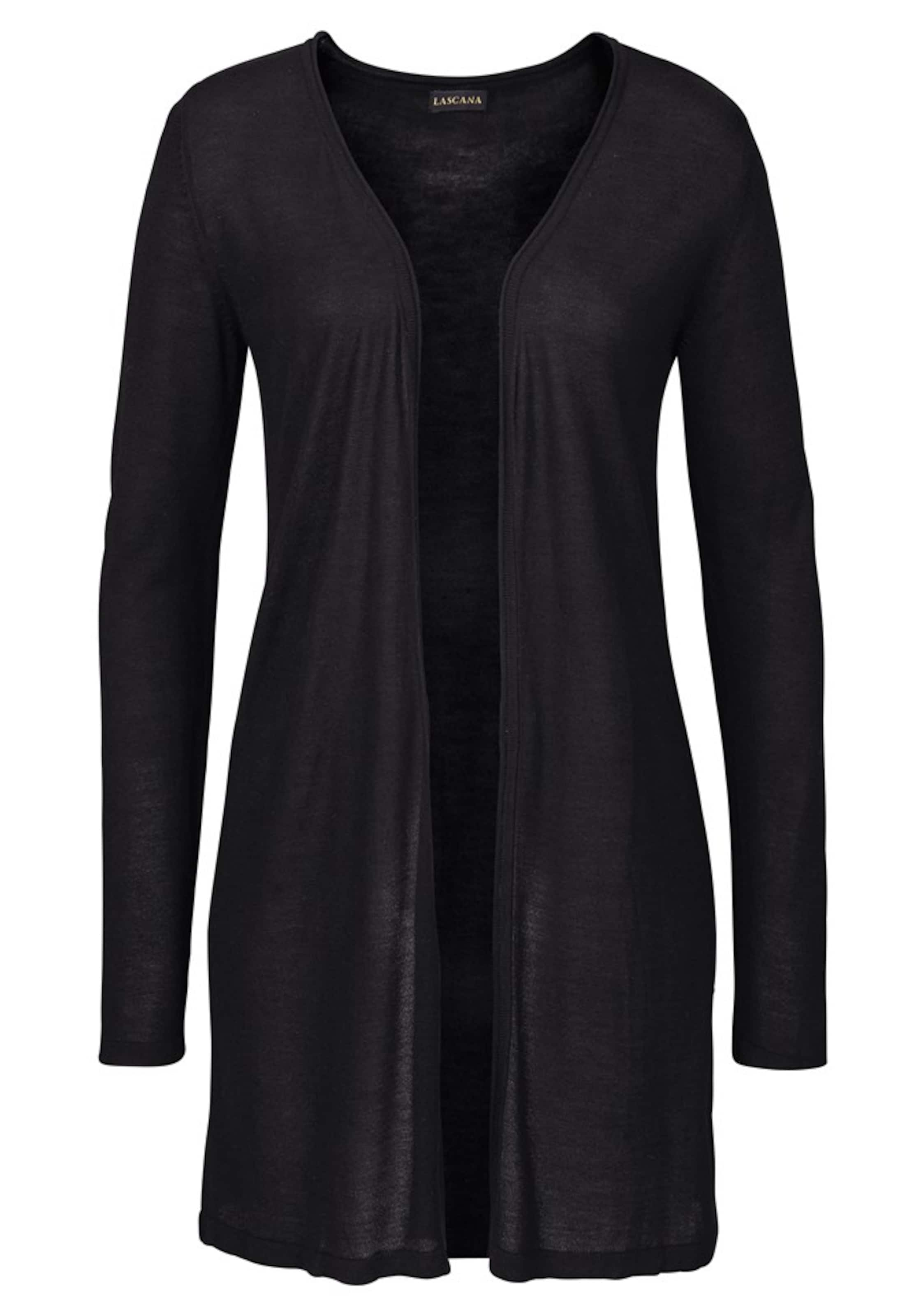 In Schwarz In Lascana Strickjacke Strickjacke Schwarz In Lascana Strickjacke Lascana 8w0NnOkPX