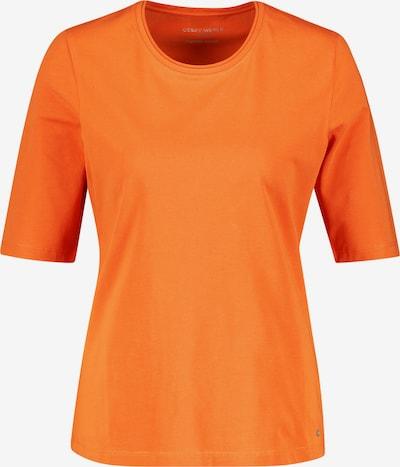 GERRY WEBER T-Shirt 1/2 Arm Basic Shirt organic cotton in orange, Produktansicht