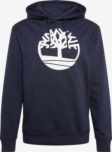 TIMBERLAND Sweatshirt in dunkelblau / weiß, Produktansicht