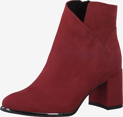 MARCO TOZZI Bottines en rouge: Vue de face
