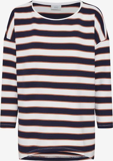 ONLY Koszulka 'onlHAILEY ELCOS O-NECK SWT' w kolorze niebieski / białym, Podgląd produktu