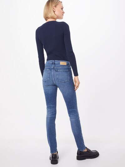 ARMEDANGELS Jeans in blue denim: Rückansicht