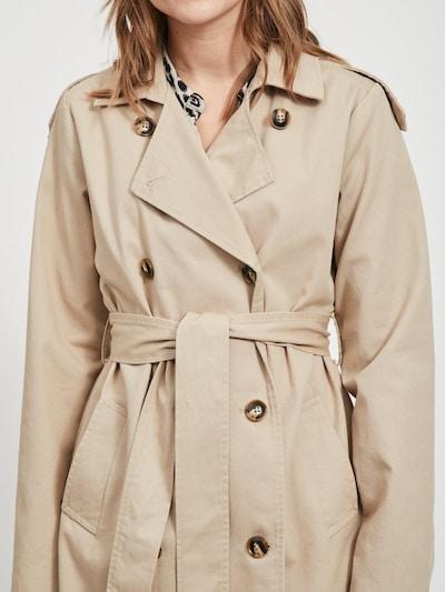 OBJECT Trenchcoat in beige, Modelansicht