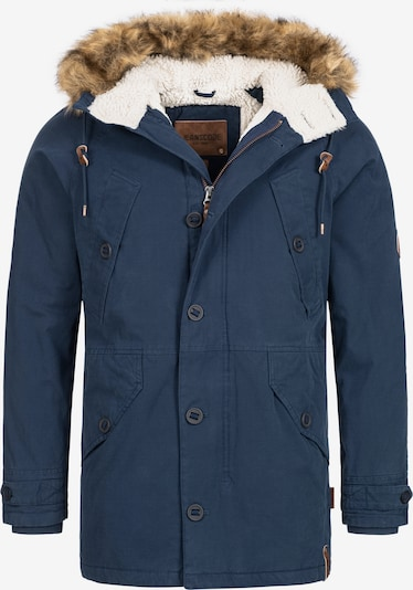 INDICODE JEANS Winterparka 'Fann' in de kleur Navy, Productweergave