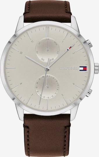 TOMMY HILFIGER Analogové hodinky - tělová / kaštanově hnědá / stříbrná, Produkt
