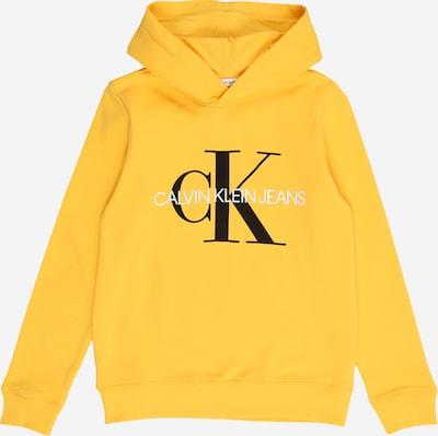 Calvin Klein Jeans Sweatshirt 'MONOGRAM' in gelb, Produktansicht