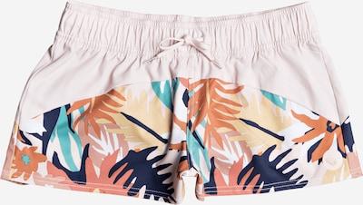 ROXY Pantalon de sport 'Catch a wave' en bleu / jaune / pêche, Vue avec produit