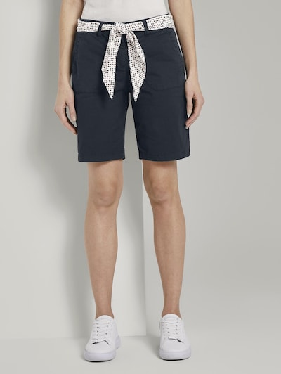 TOM TAILOR Chino kalhoty - tmavě modrá, Model/ka