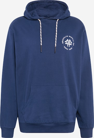 Brooklyn Supply Co. Sweater majica u mornarsko plava, Pregled proizvoda