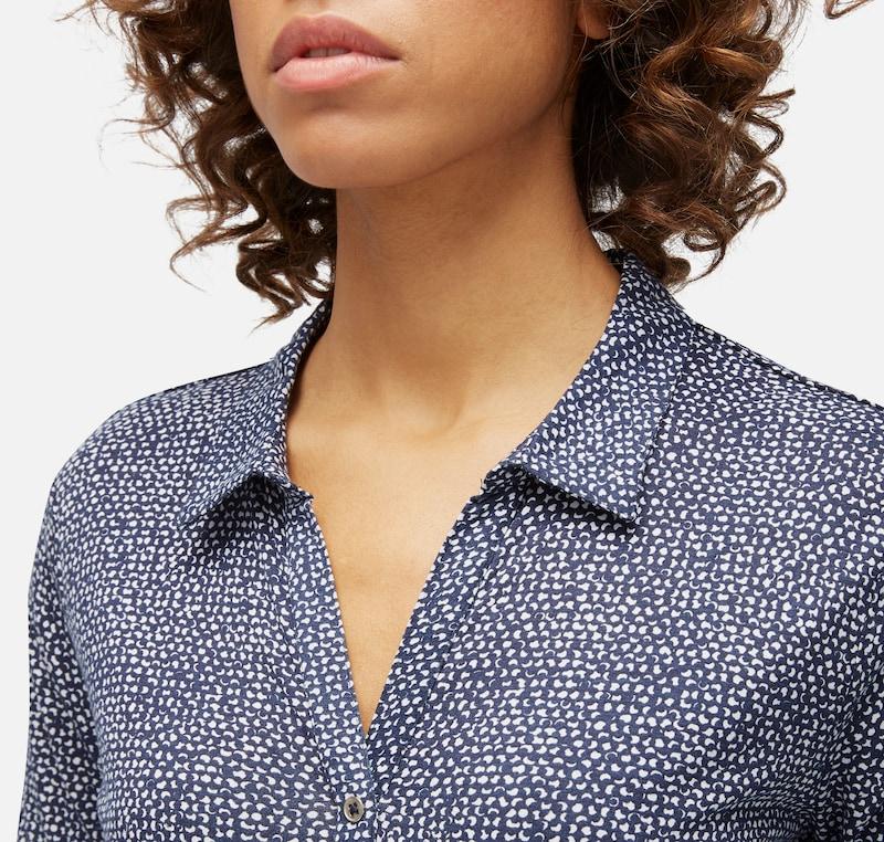 TOM TAILOR Gemustertes Shirt mit Elastik-Bund